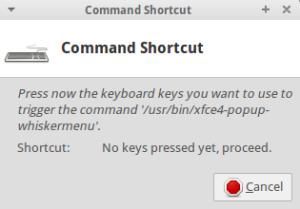 record shortcut